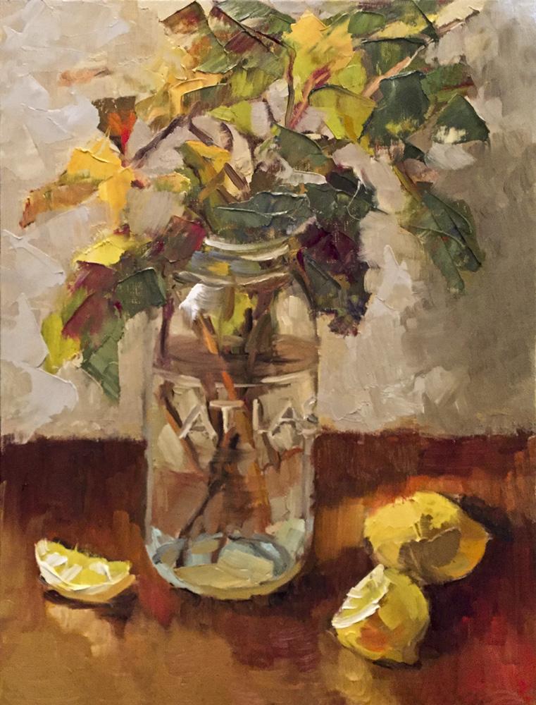 16_ Mason Jar and Lemons