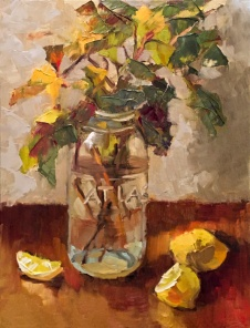 16_ Mason Jar and Lemons