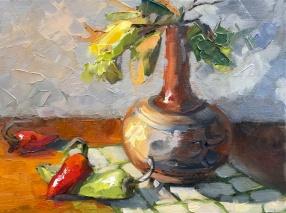 20_ South Western Vase