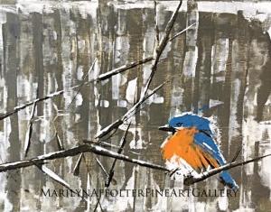 winter bird-001