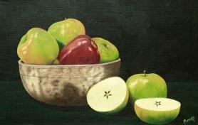 apples 12 x 18