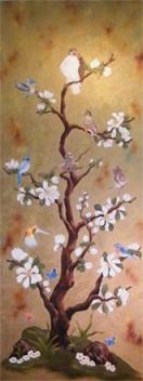 magnolia tree of life 80 x 30