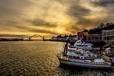 Newport Oregon Sunset-002